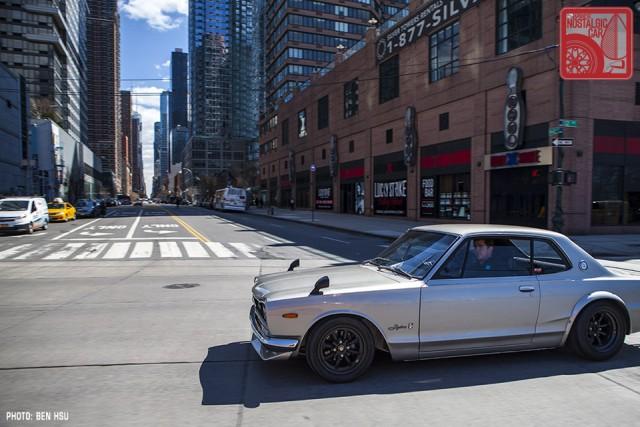 17_1971 Nissan Skyline GTR Hakosuka KPGC10 in NYC
