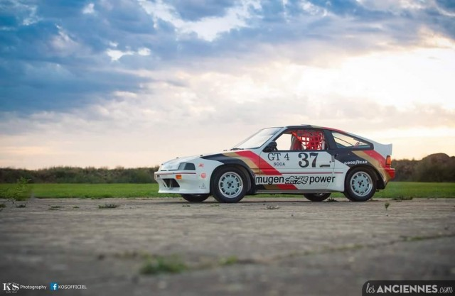 1984 Honda CRX Mugen SCCA GT4 replica France 04