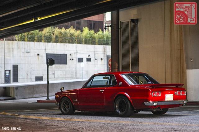 54_NissanGTR-R35_SkylineC10Hakosuka_rear