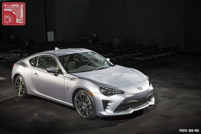 Ny Auto Show First In Person Look At The 2017 Toyota 86