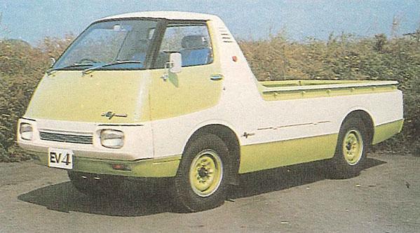 Nissan EV4 truck