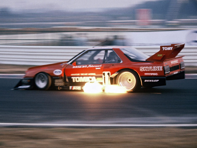 Nissan Skyline Super Silhouette Group 5 KDR30