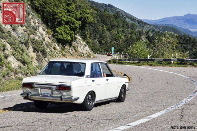 Touge_California_Nissan Bluebird 510 sedan