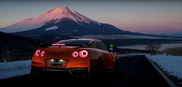 Gran Turismo Sport Nissan GTR Mt Fuji