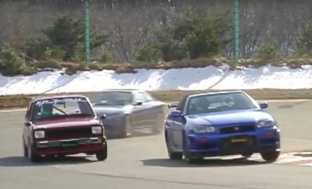 Hot Version Keiichi Tsuchiya Drift King KP61 Starlet R34 GTR