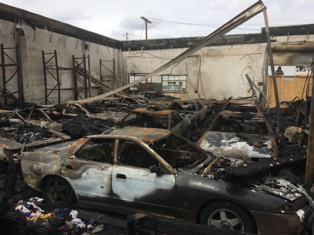 International Vehicle Importers fire