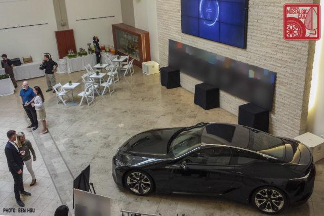 Lexus LC500 dark gray
