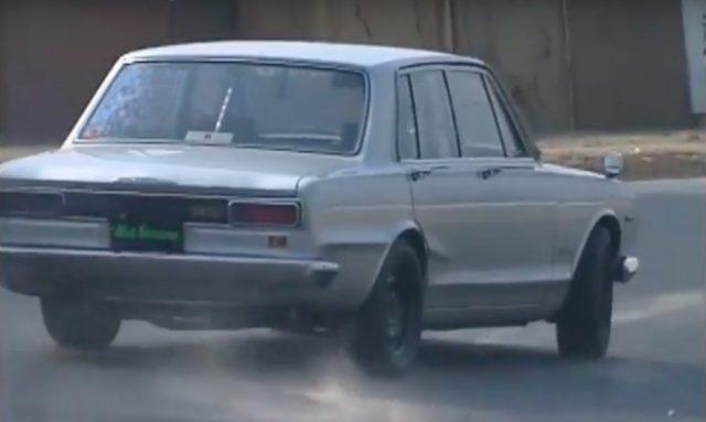 Nissan Skyline sedan hakosuka Keiichi Tsuchiya drift king