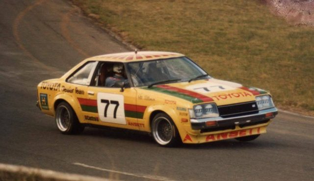 Peter Williamson Toyota Celica A40
