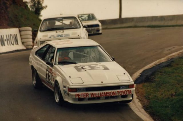 Peter Williamson Toyota Celica Supra A60