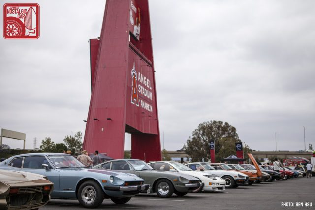 EVENTS ZBash Japanese Nostalgic Car - Angel stadium car show