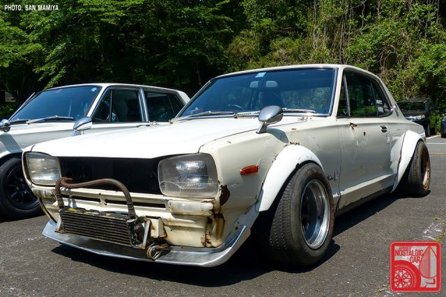 Sagamiko Forest Highlight Hakosuka Drift Car Japanese Nostalgic Car