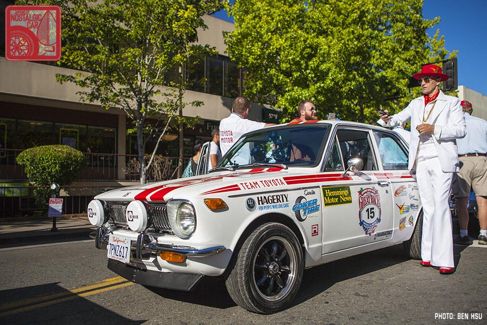 PROFILES: Driving Toyota's Great Race 1970 Corolla ...