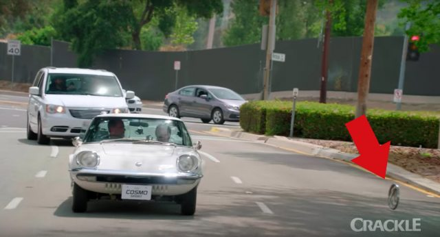 VIDEO: Jerry Seinfeld Will Drive The Hubcap Off A Mazda