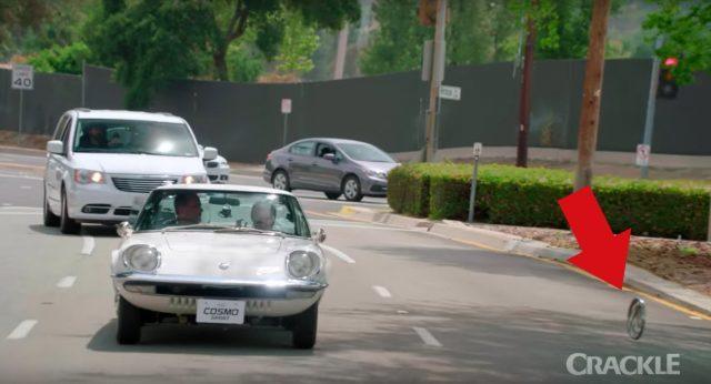 Seinfeld Comedians in Cars Getting Coffee Mazda Cosmo Sport