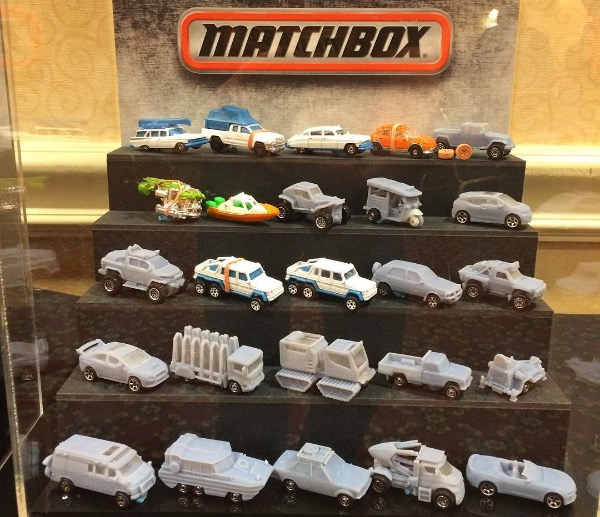 Matchbox 2017 lineup prototypes
