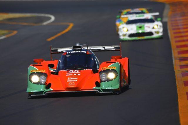 Mazda IMSA Protoype 55 Le Mans livery
