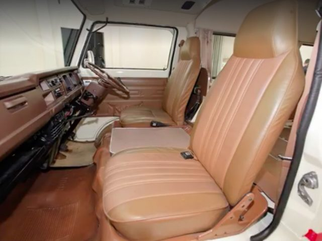1978 Nissan Caravan Chair Cab restoration 12