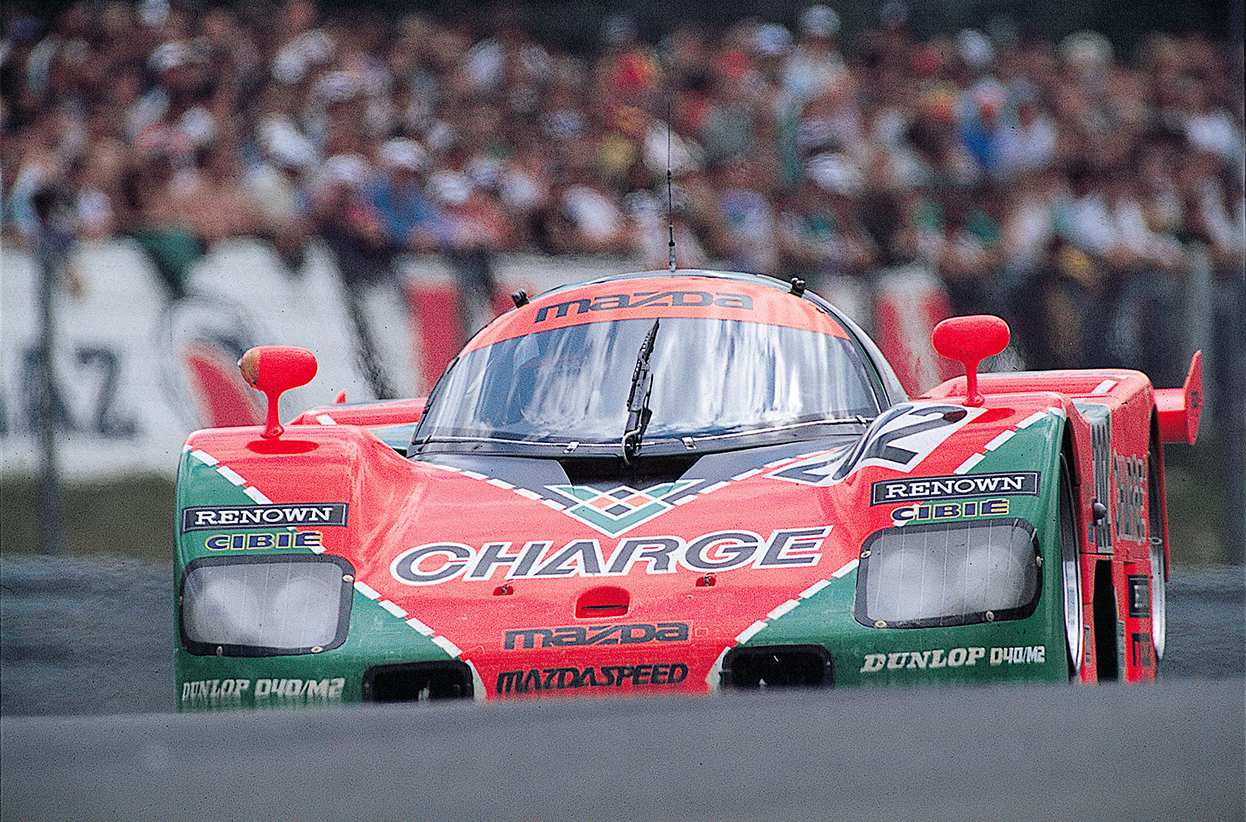 collections mazda restores historic 767b le mans racer japanese nostalgic car. Black Bedroom Furniture Sets. Home Design Ideas