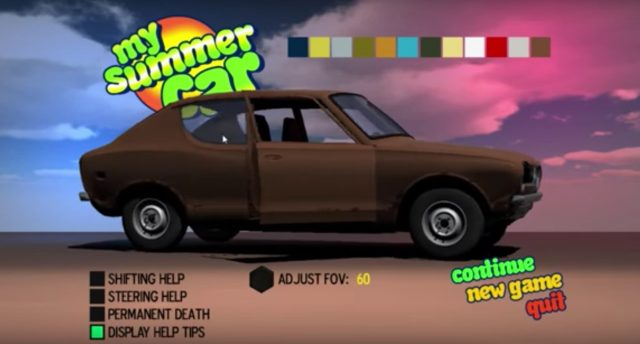 My Summer Car Datsun Cherry