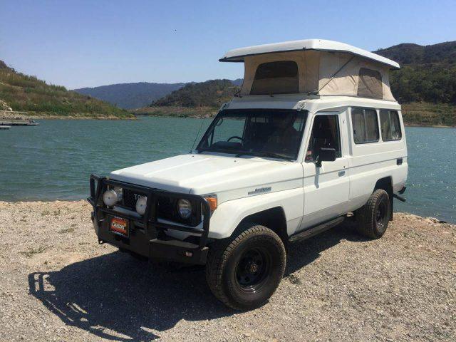 Toyota Land Cruiser HJ75 camper
