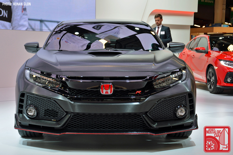 Paris Motor Show 2017 Honda Civic Type R Japanese Nostalgic Car