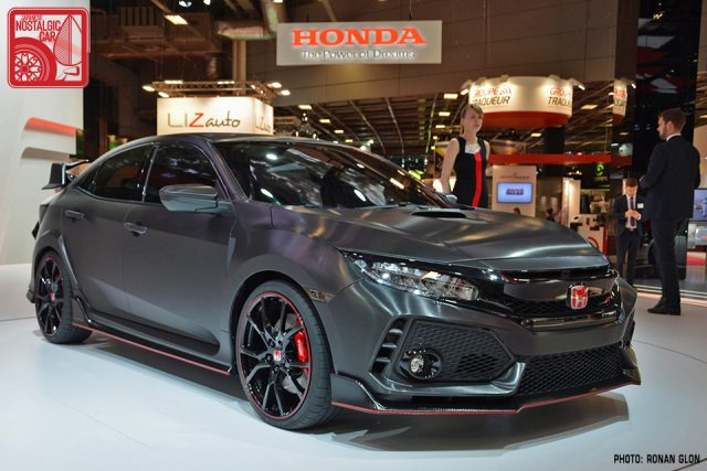 2017 Honda Civic Typer Paris Motor Show 03