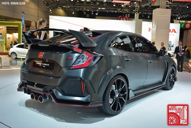 2017 Honda Civic Typer Paris Motor Show 05