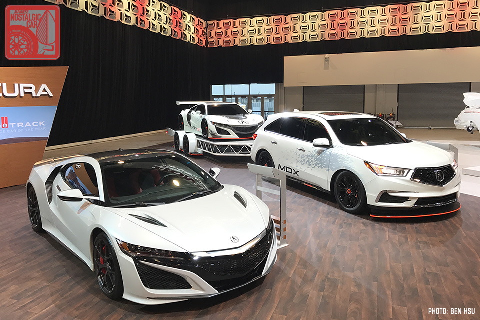 SEMA 2016: Honda Channels 1990 With The New Acura NSX