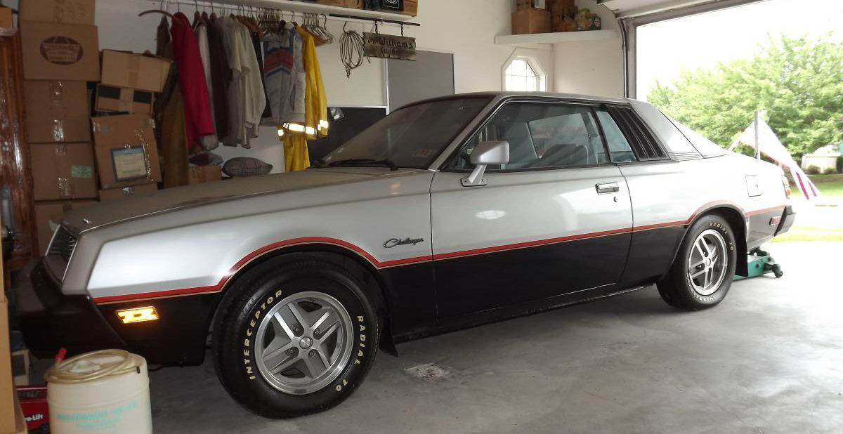 KIDNEY, ANYONE? Plaid-tastic 1980 Dodge Challenger, aka ...