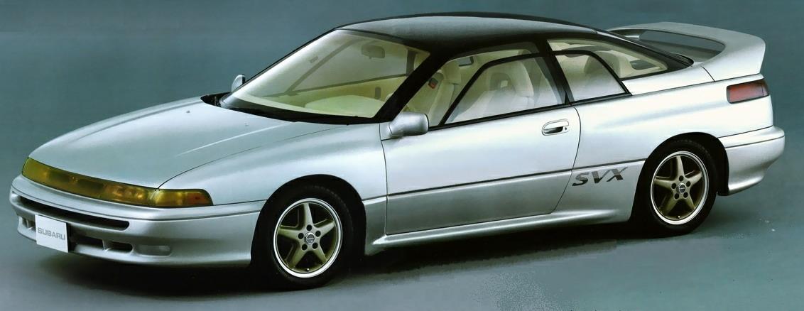 25 YEAR CLUB: Subaru SVX   Japanese Nostalgic Car