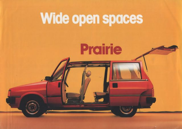 Nissan Prairie Promo