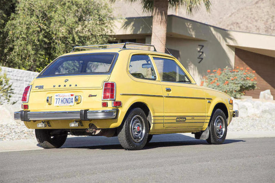 marketwatch 1977 honda civic sells for 15 400 japanese