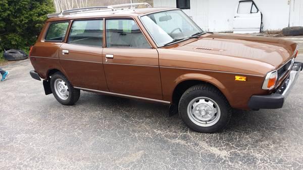"Craigslist Cars Milwaukee: KIDNEY, ANYONE?: 1979 Subaru DL ""50 Shades Of Brown"