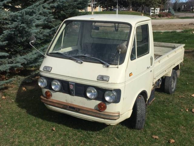 KIDNEY, ANYONE? 1969 Suzuki Carry LHD