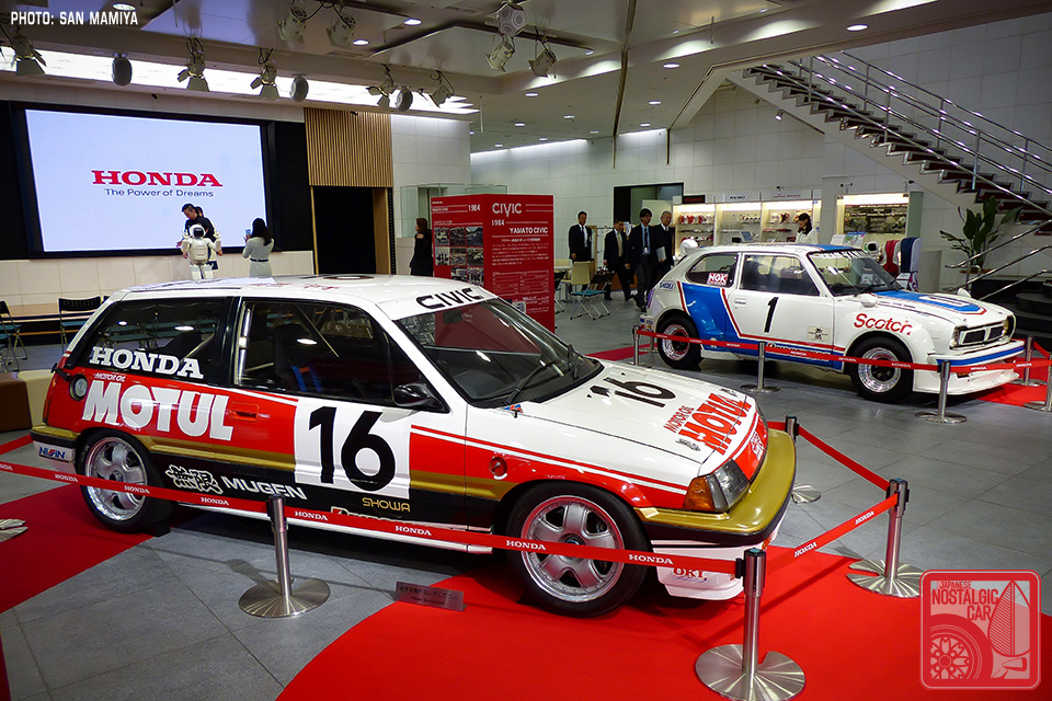 Motorsport Honda Civic Racing History Japanese Nostalgic Car