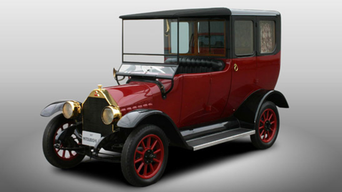 NEWS: Mitsubishi Motors celebrates 100 years by recreating its first ...