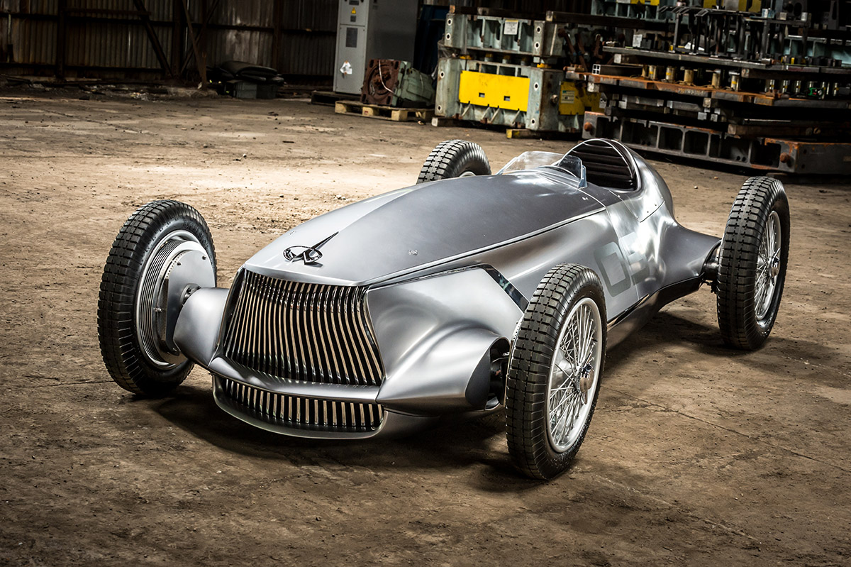 News Infiniti Prototype Envisions A Retro Racer From The