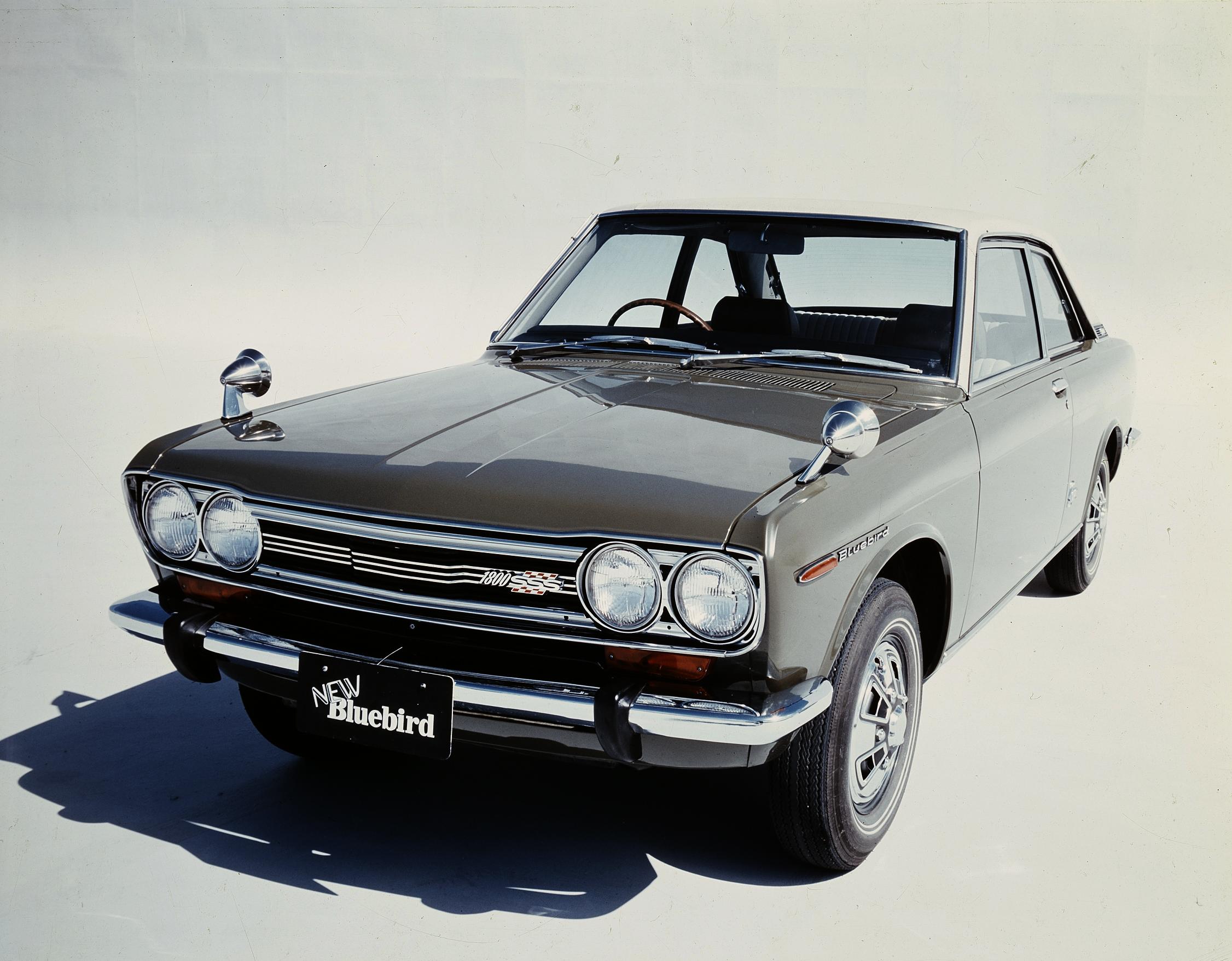 50 Year Club Nissan Bluebird 510 Japanese Nostalgic Car