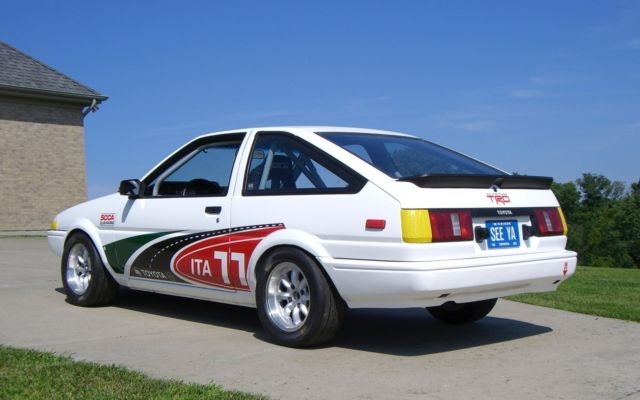KIDNEY, ANYONE? SCCA AE86, a Corolla with racing pedigree