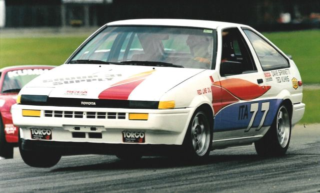 Kidney Anyone Scca Ae86 A Corolla With Racing Pedigree