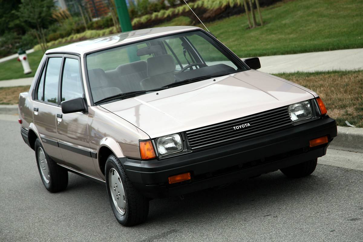 Kidney Anyone 10 000 Mile 1984 Toyota Corolla Le Japanese Nostalgic Car