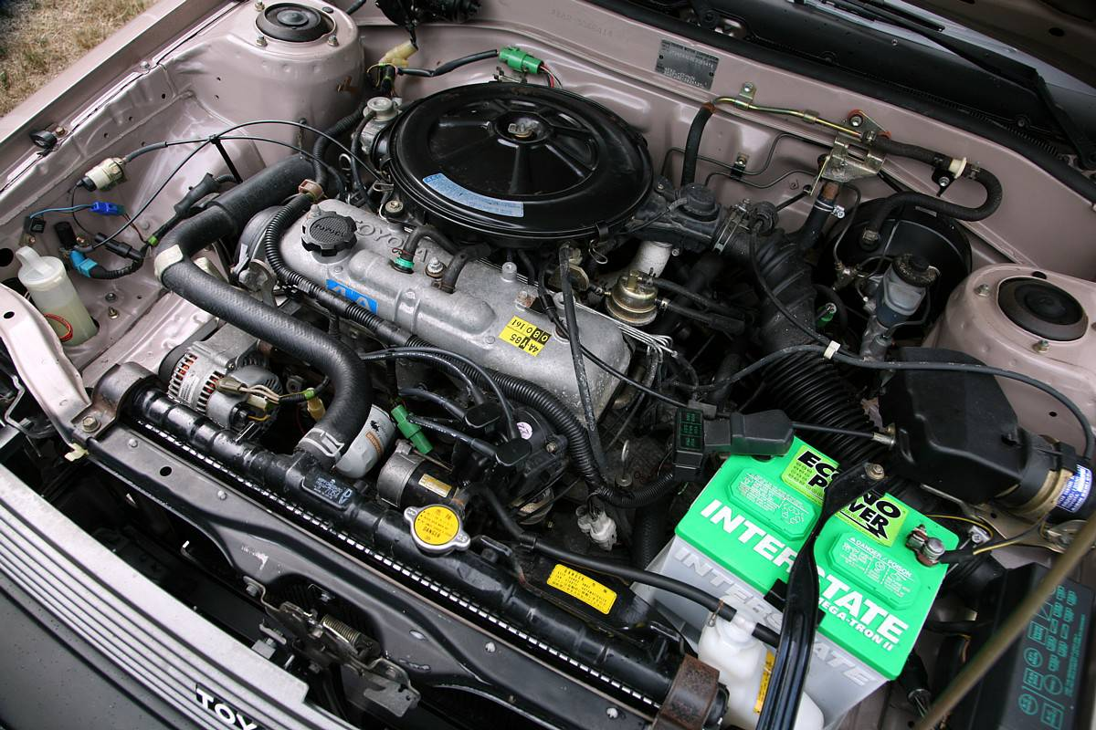 KIDNEY, ANYONE? 10,000-mile 1984 Toyota Corolla LE | Japanese ...