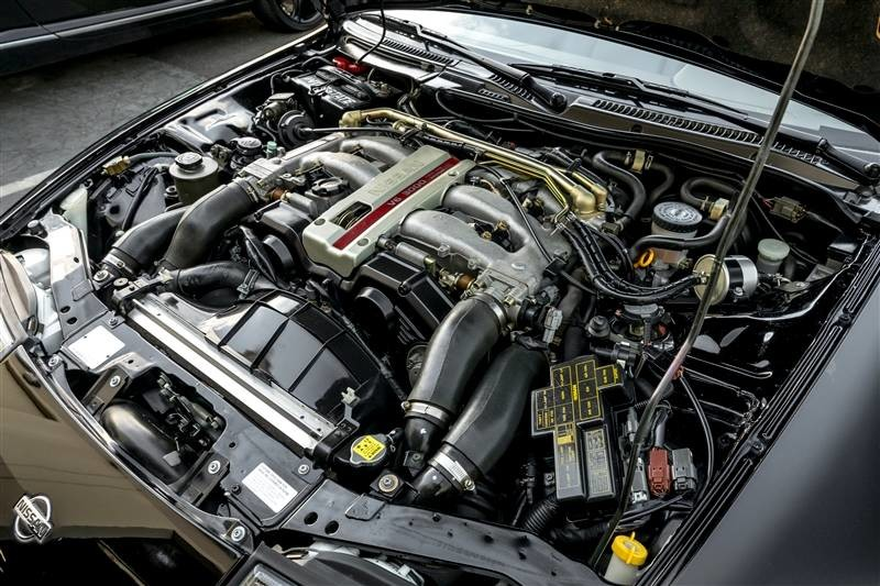 Itu0027s Whatu0027s Under The Hood That Counts, And Whatu0027s There Is A Twin Turbo  VG30DETT ...