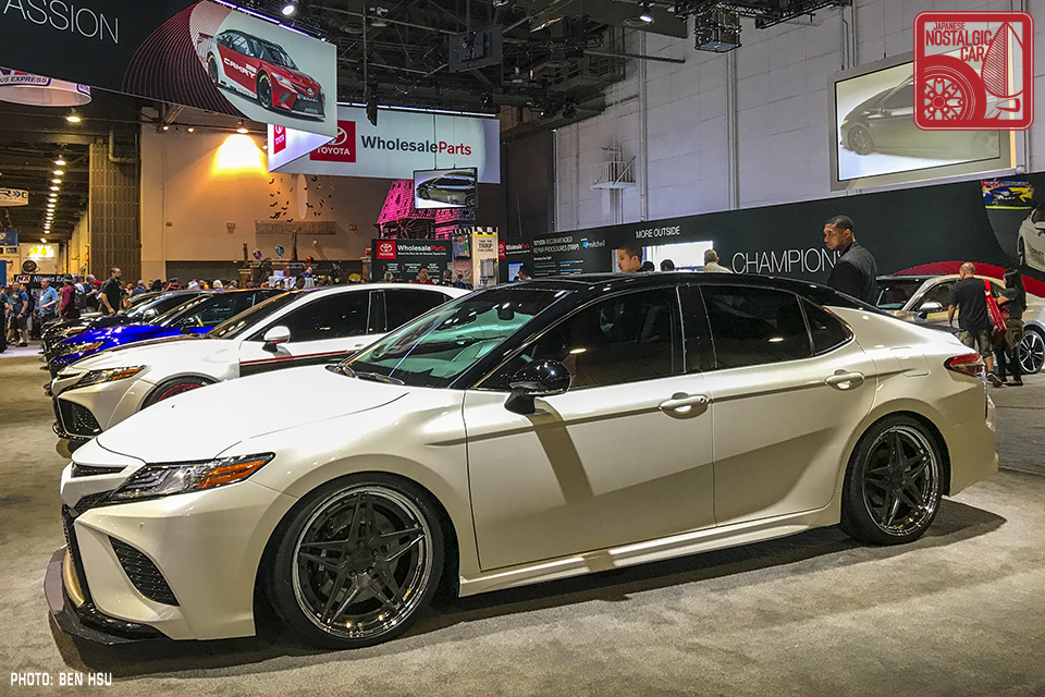 Sema 2017 Toyota Brings Fifteen Camrys To World S Biggest