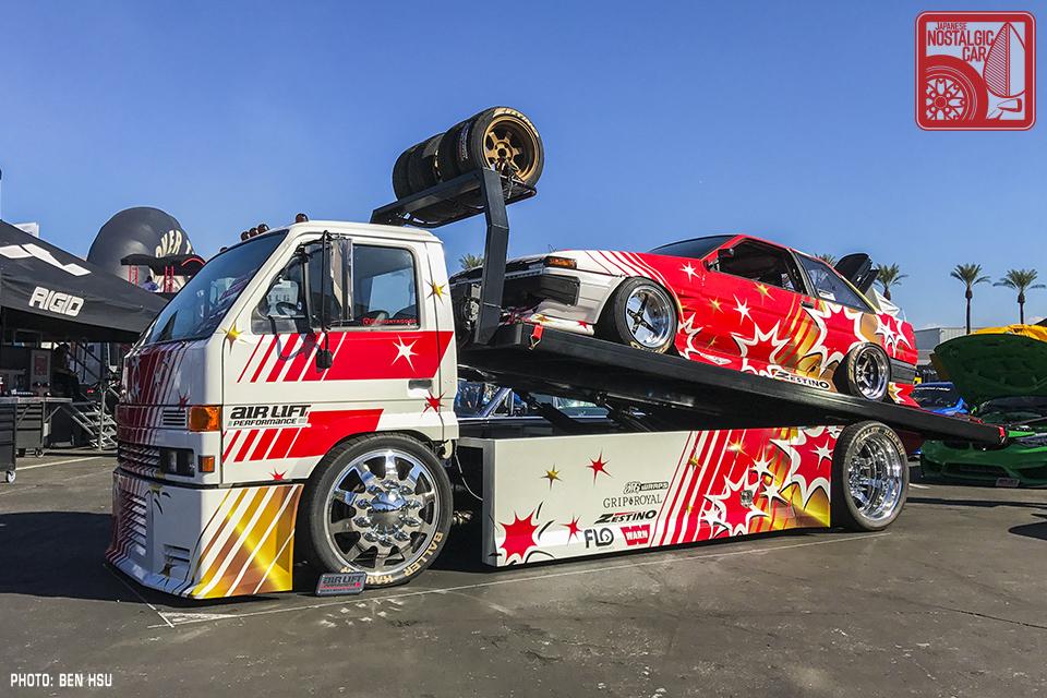 Sema 2017 The Good The Bad And The Ugly Japanese Nostalgic Car