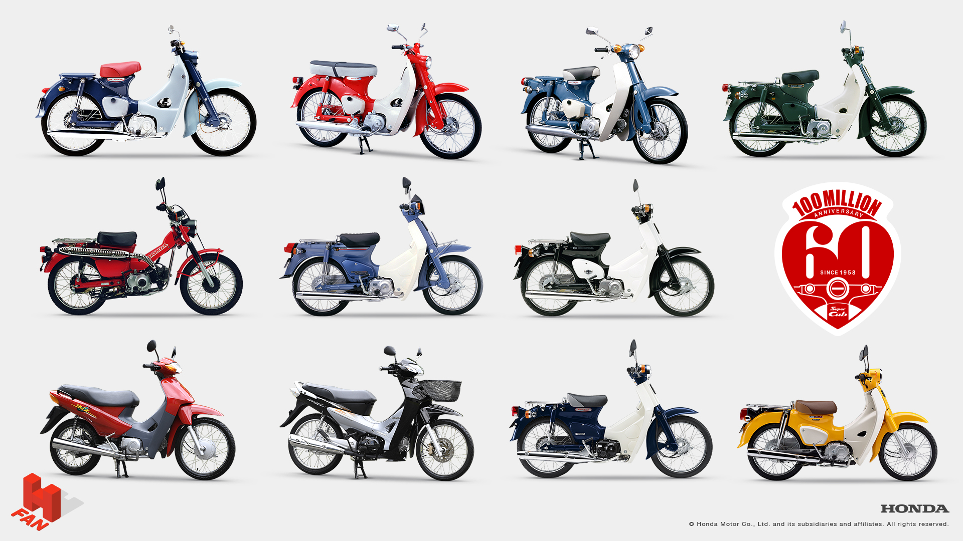 Honda Has Also Created A Special Website For The Celebration Of SuperCub It Describes Super Cub As Unique To Japan And World