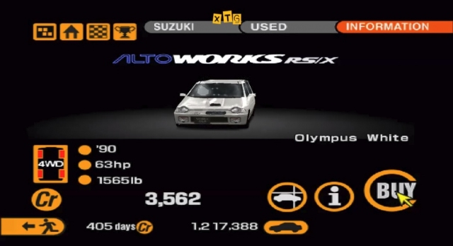 Suzuki Alto Rsx