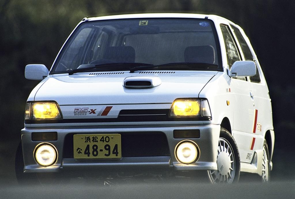 Kei Hero Suzuki Alto Works Japanese Nostalgic Car
