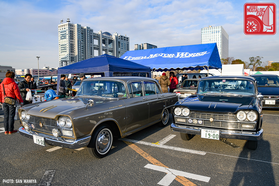 Events 2018 New Year Meeting Part 02 Sixties Sedans Japanese